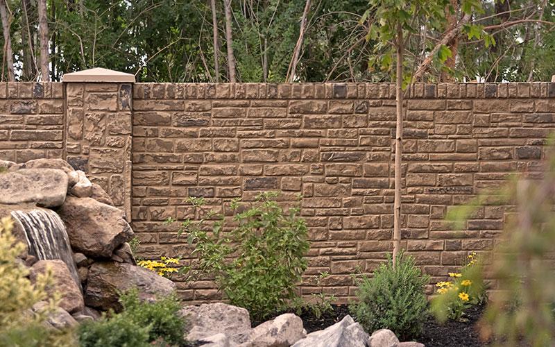 Precast Stone Walls : Orlando pre cast walls affordable decorative with